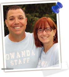 Howie & Terry Schrager - Athletics/Special Events Director & Camp Tutor