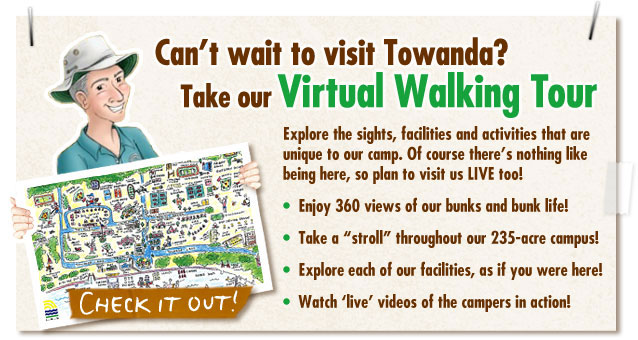 Can't Wait to visit Towanda? Take our Virtual Walking Tour!