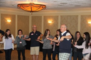 Bob Ditter at Camp Towanda staff orientation