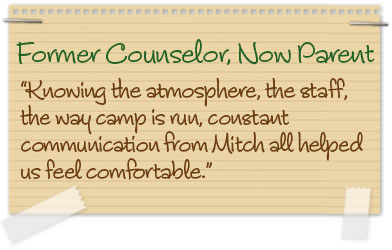 Former Counselor, Now Parent
